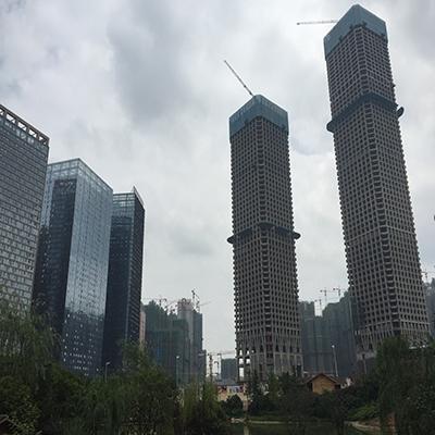 贵阳花果园双子塔项目